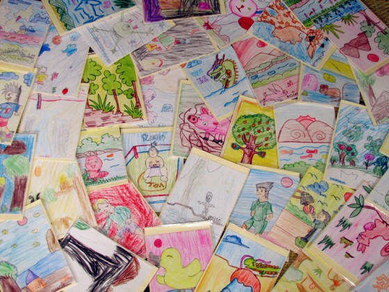 cards made by kids