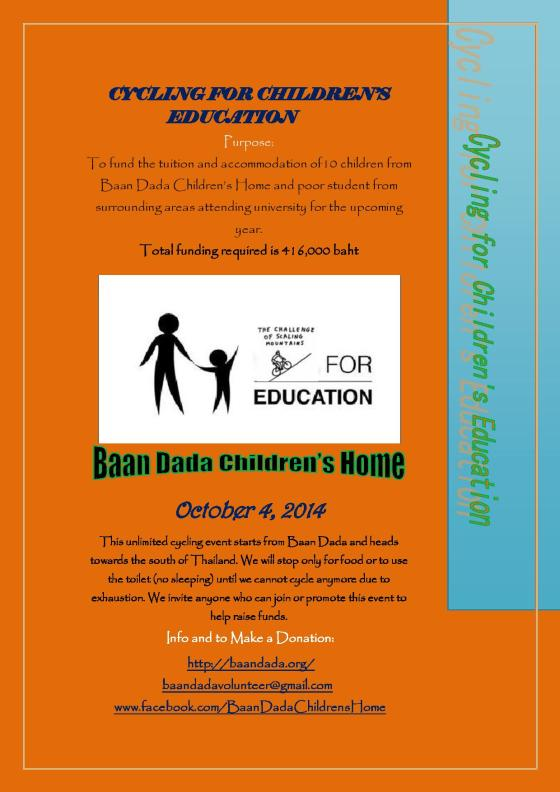 Cycling for Children s Education Flyer 2014-page-001