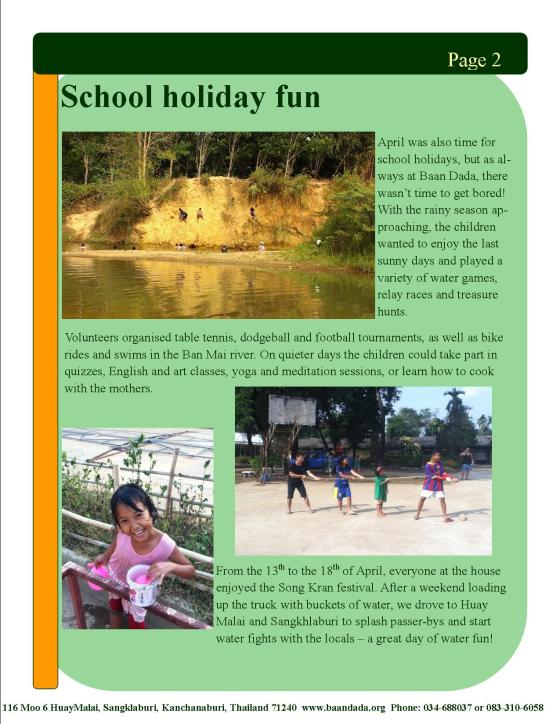 April May newsletter page2