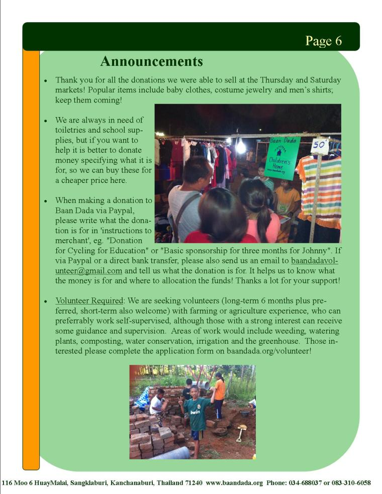 April May newsletter page6