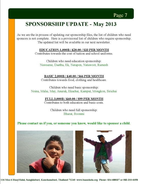 April May newsletter page7
