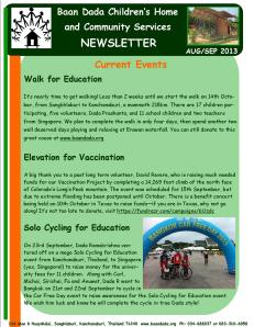 August September newsletter.Page1