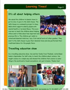 August September newsletter.Page4