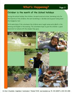 Newsletter October 2014 2