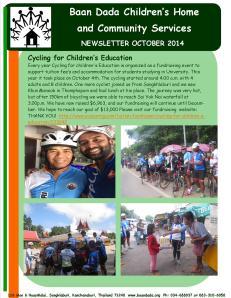 Newsletter October 2014