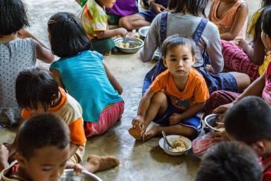 Burma child